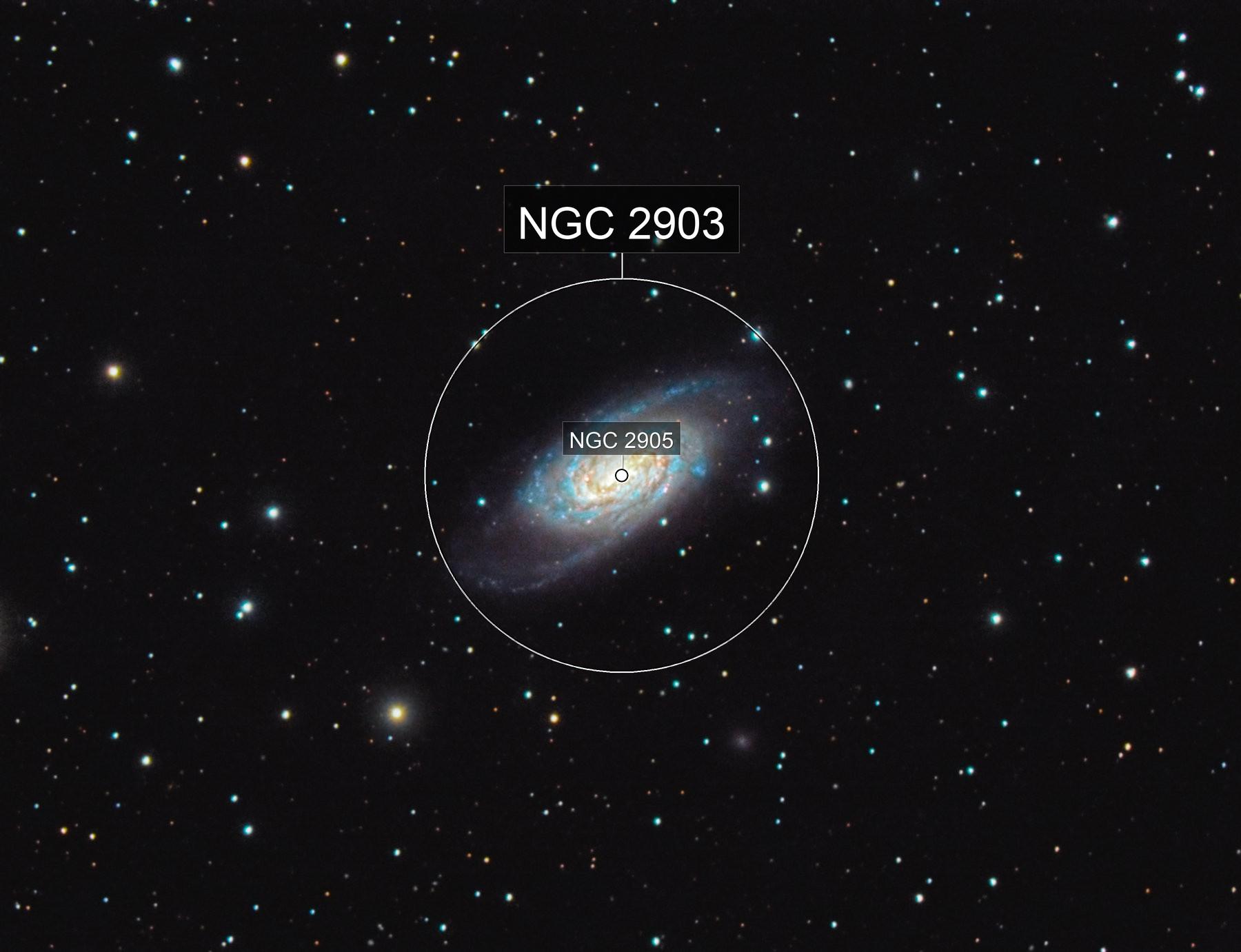 NGC 2903 (Leo)