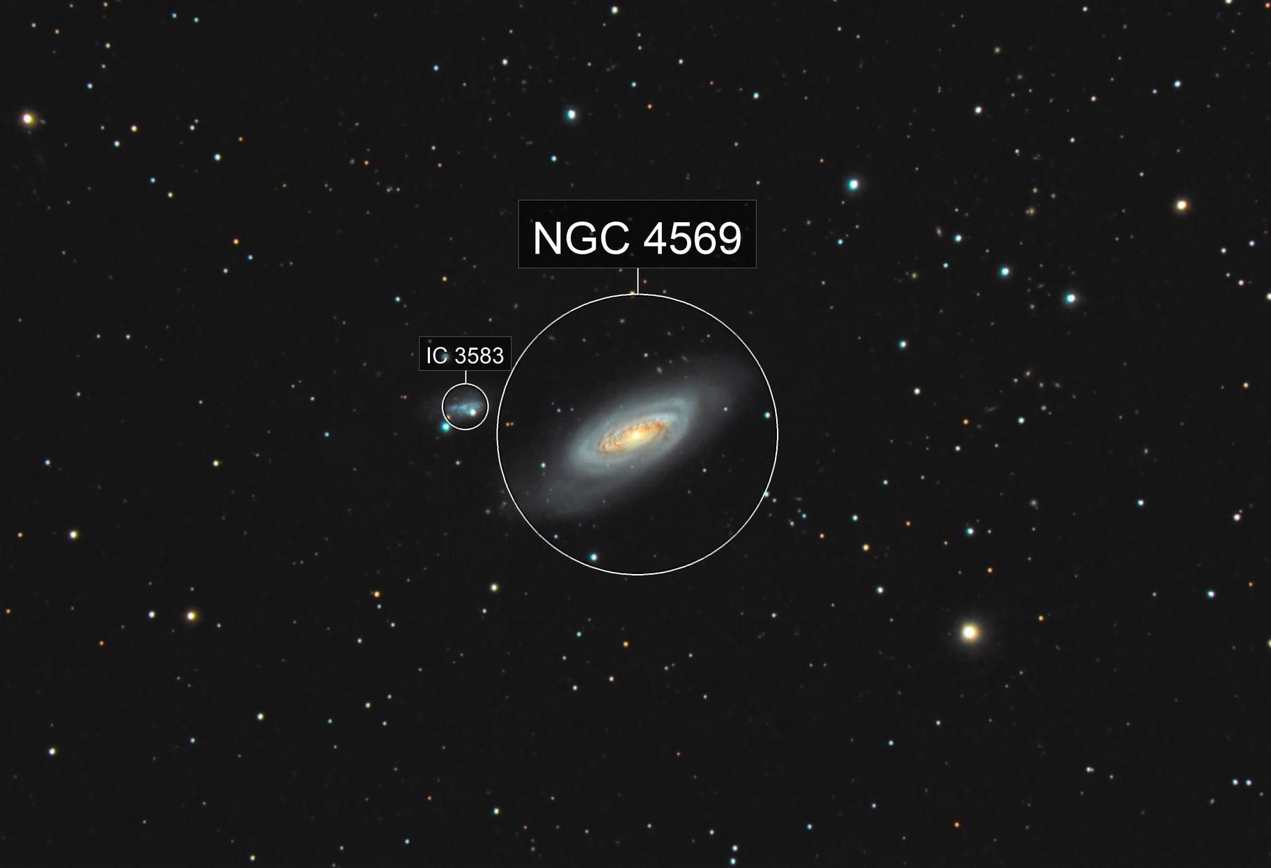 Messier 90 - NGC 4569 (Virgo)