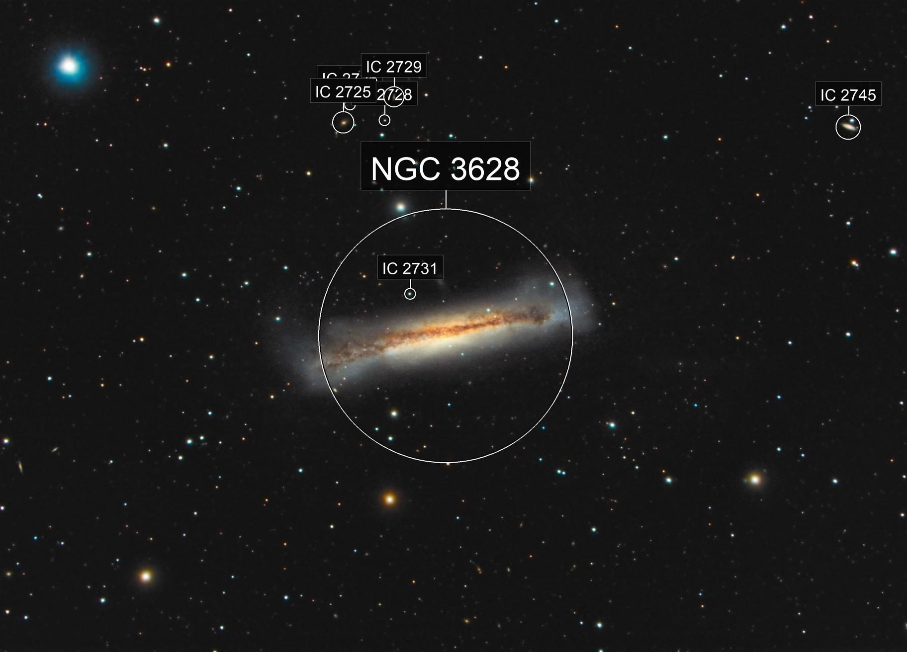 NGC 3628 (Leo)
