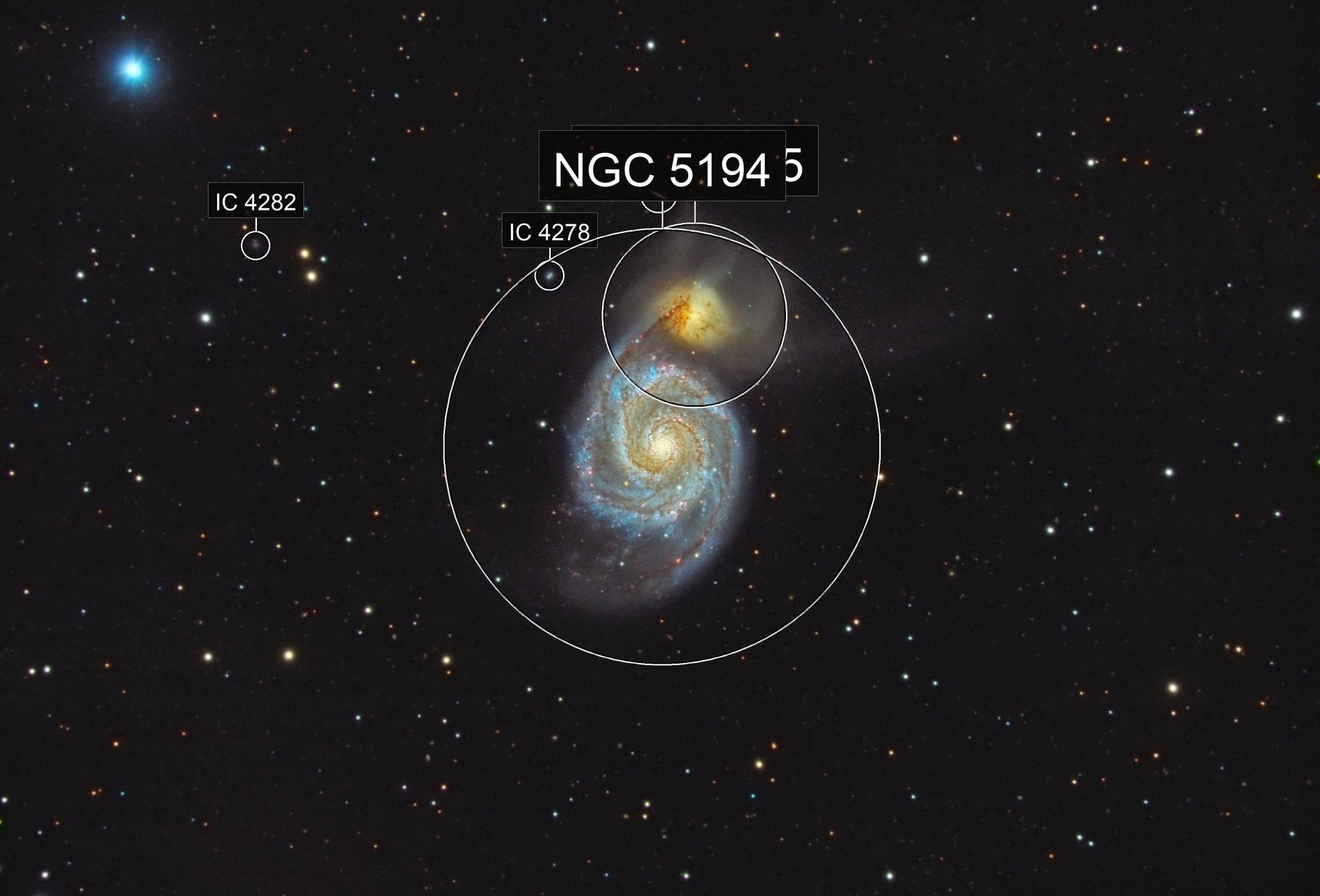 M51 (Canes Venatici)