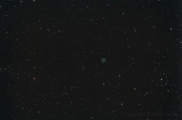 """Planetarischer Nebel Abell 39 im Herkules - """"Widefield"""" (Original-Bildfeld)"""