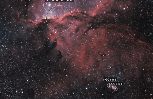 NGC6188 / NGC6164