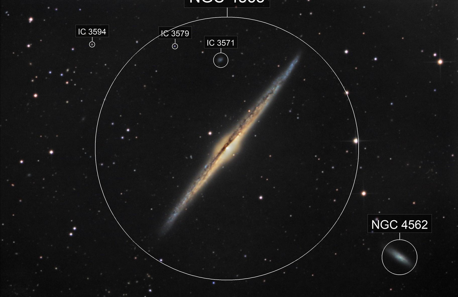NGC4565 The Needle Galaxy