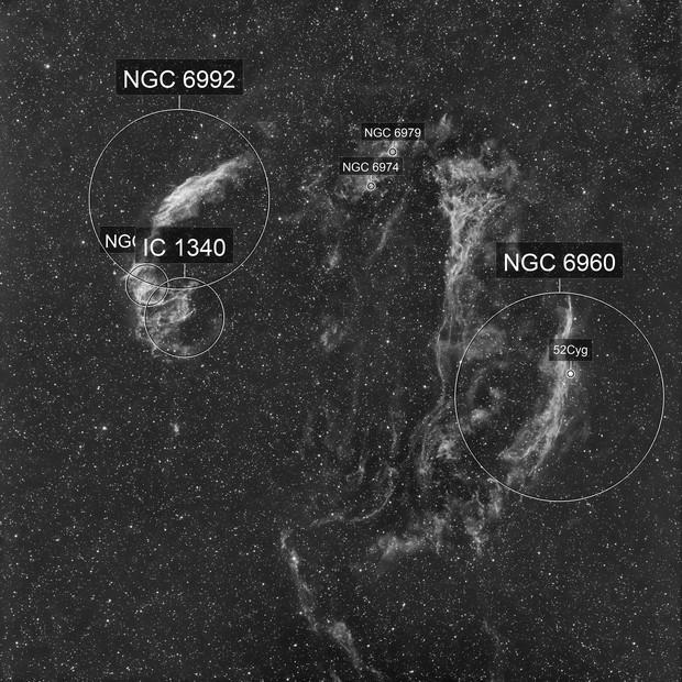 Veil Nebula in Ha