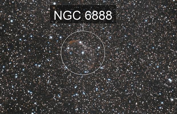 NGC6888 Crecent Nebula