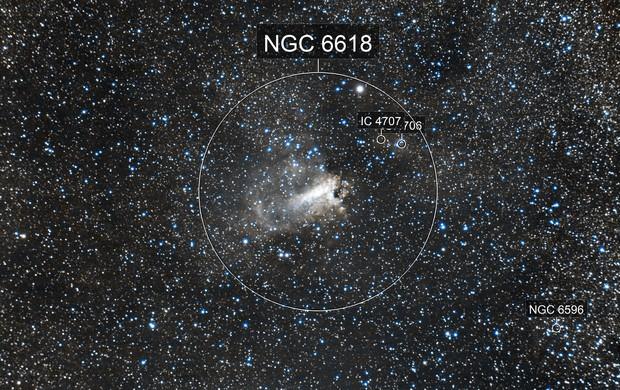 M17 Omega/Swan Nebula