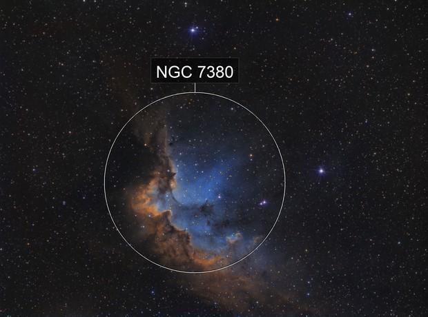 Wizard nebula SHO