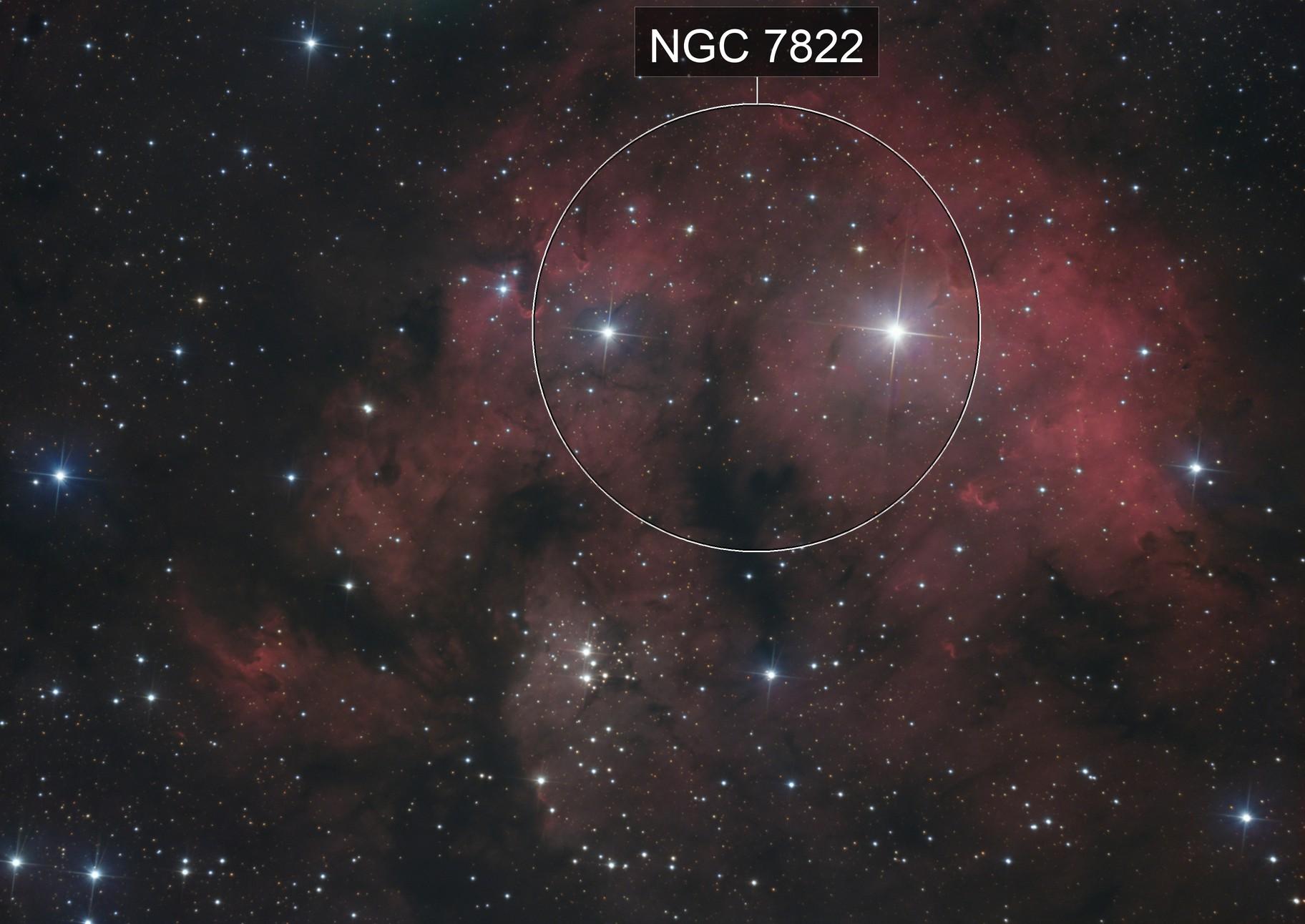 NGC 7822 HaLRGB