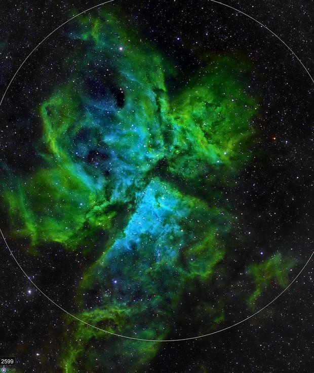 NGC3372 SHO