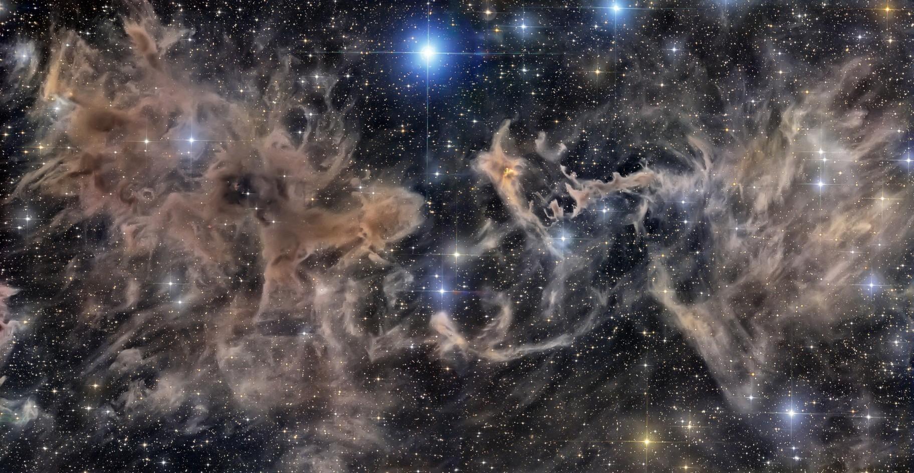 LBN 552 Molecular Cloud Complex In Cepheus Constellation