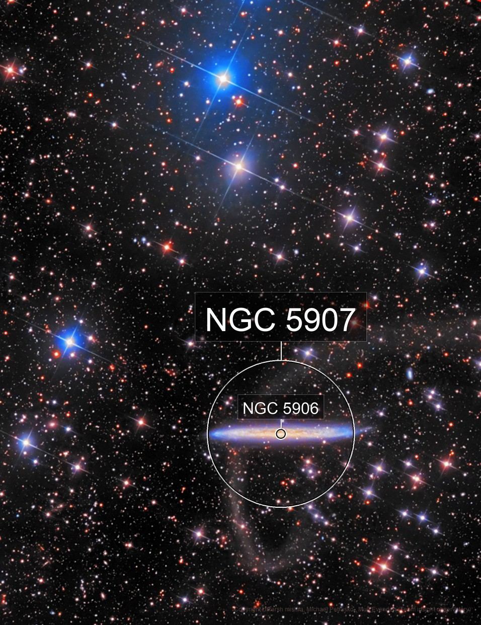 NGC5907 with Tidal Stream
