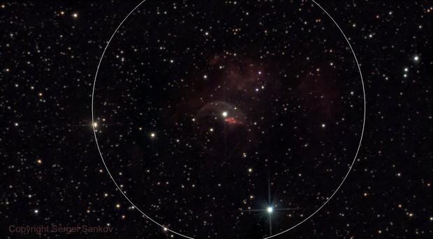 NGC 7635, Bubble Nebula.