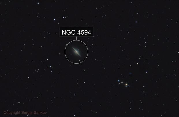 M104. Sombrero Galaxy