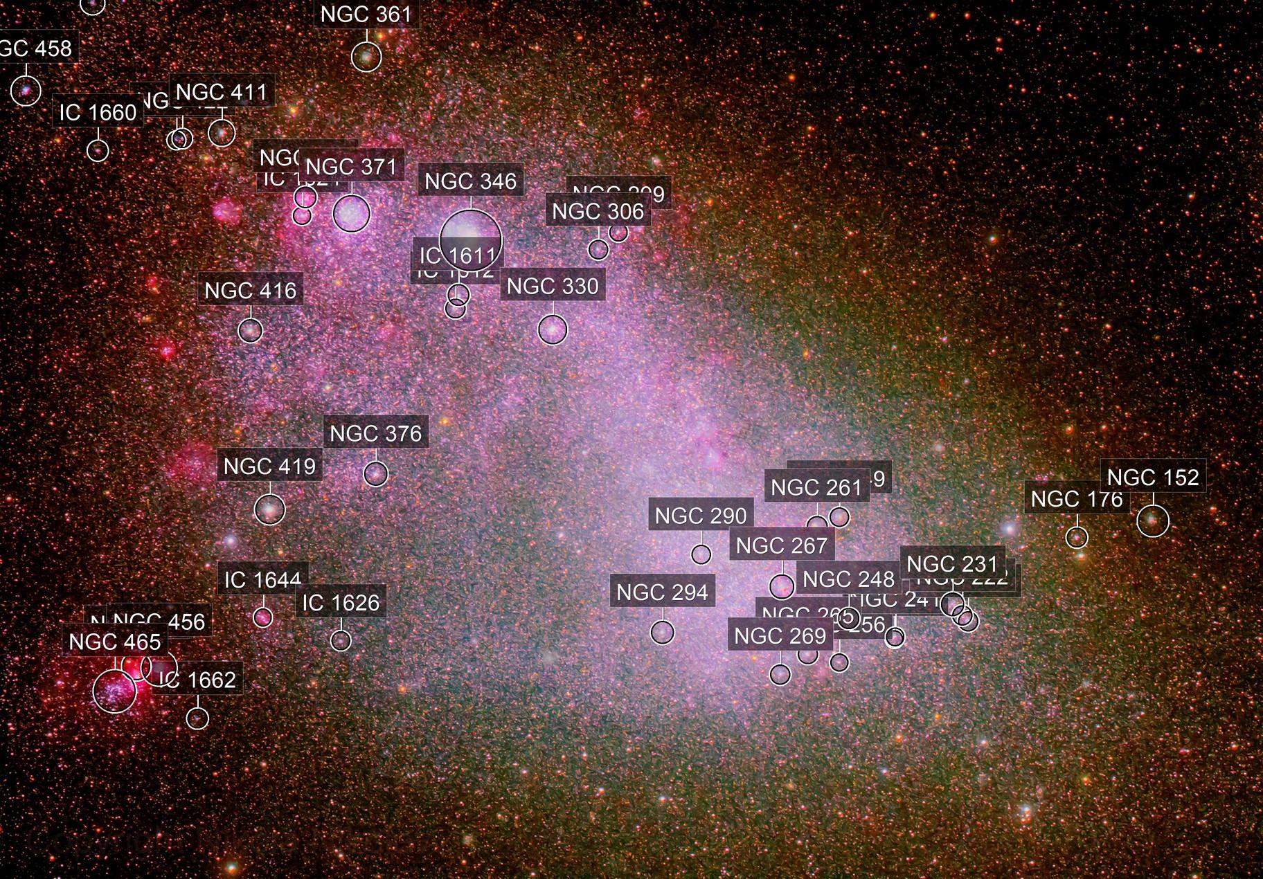 NGC 292 (The Small Magellanic Cloud)
