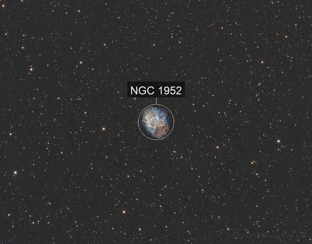 M1 Crab Nebula SHO Ver.
