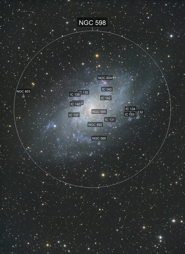 M33  Triangulum galaxy LRGB