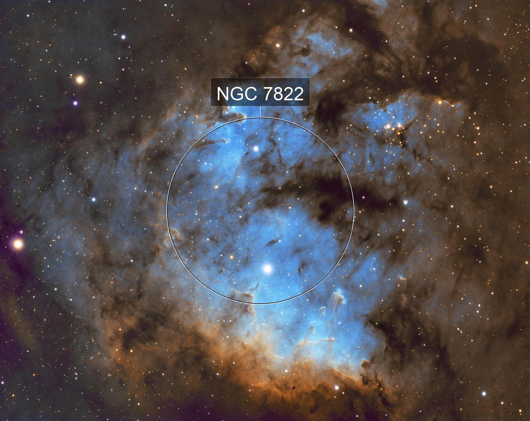 NGC7822 In Cepheus constellation SHO