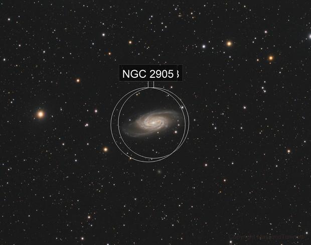 NGC 2903 Leo constellation L_RGB