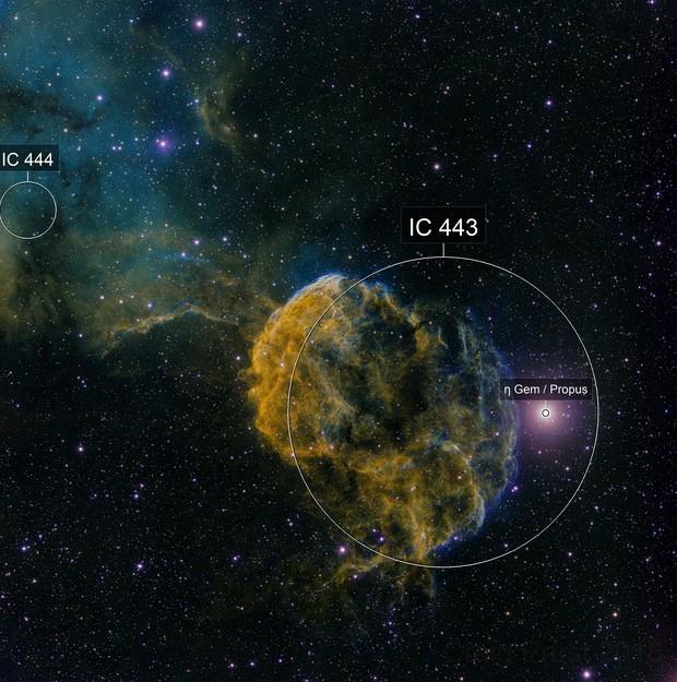 IC 443 Deep Sky West