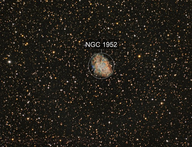 M1 The Crab Nebula done with my MEADE
