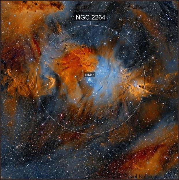 NGC2264 RGBHST
