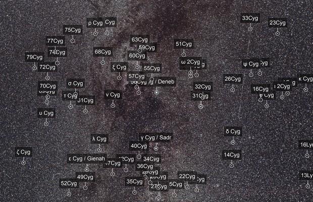 Deneb Region  - Perseid Meteor - Wide Field
