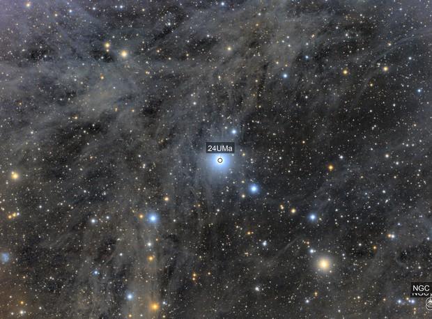 The Angel Nebula-IFN