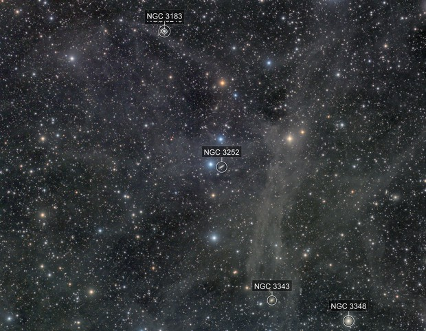 NGC3252 wide field with Ifn
