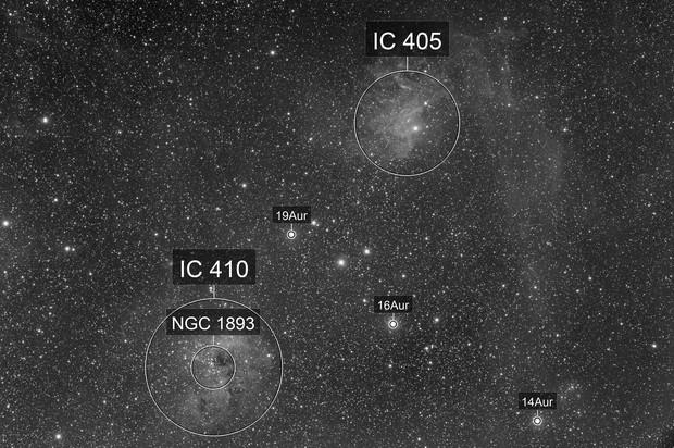 Flaming Star Nebula - QHY600 First Light