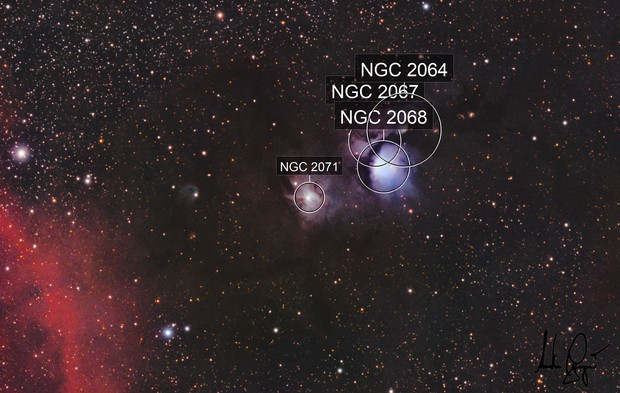 NGC2071 & M78