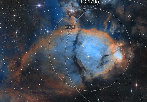 In the fish tank  -  IC1795 - Fish nebula