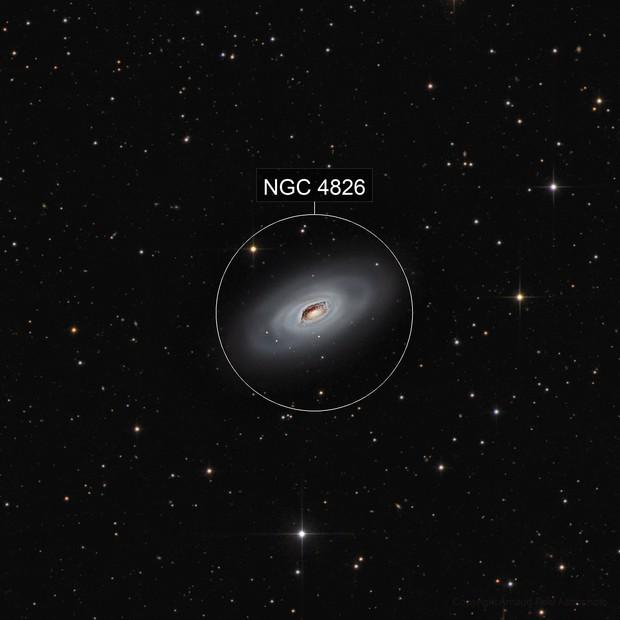 new version - M64 - Black Eye Galaxy