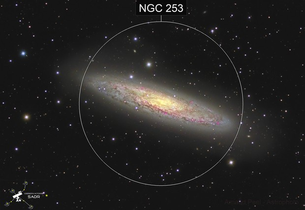 Sculptor Galaxy NGC253  - Sadr Chili