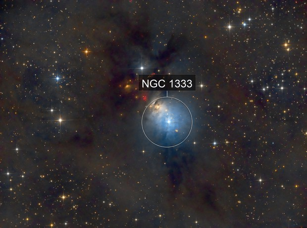Molecular Clouds NGC1333 in Perseus