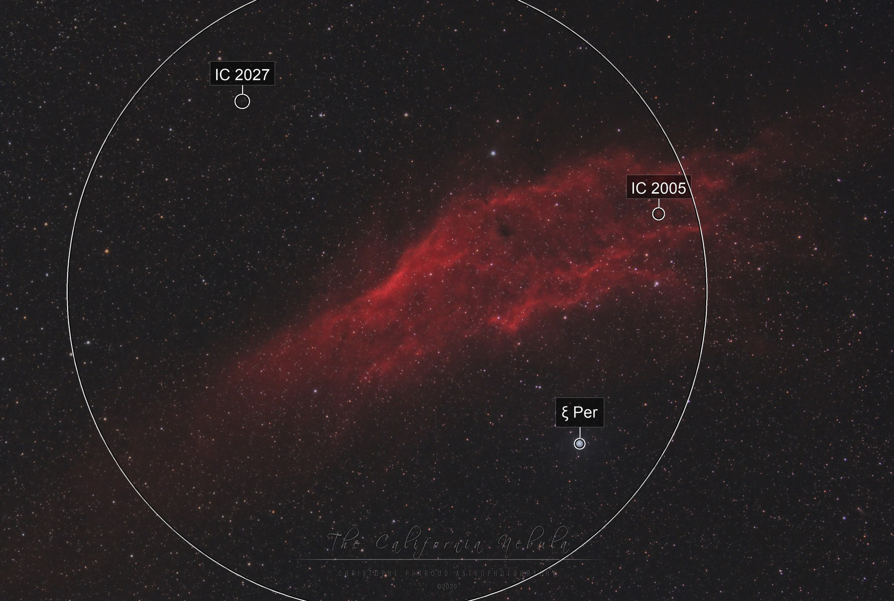 First light SharpStar 76EDPH / NGC 1499