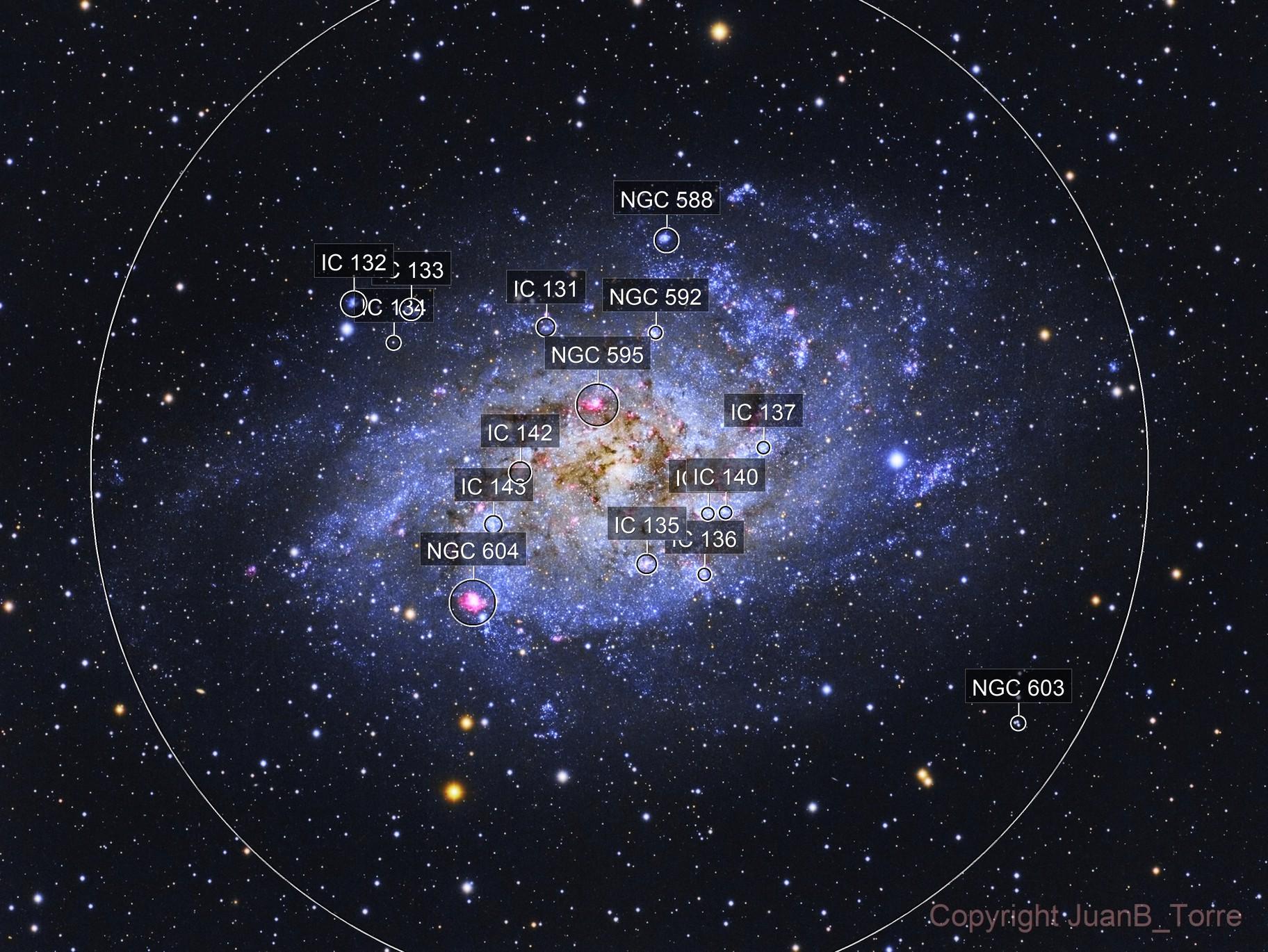 M 33 Triangulum Galaxy
