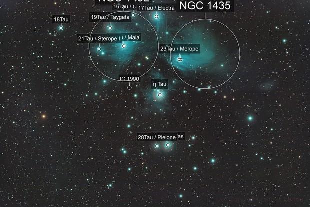 M45 Pleiades / Canon 600D+SW 80ED / SW EQM-35 mount / 1600ISO