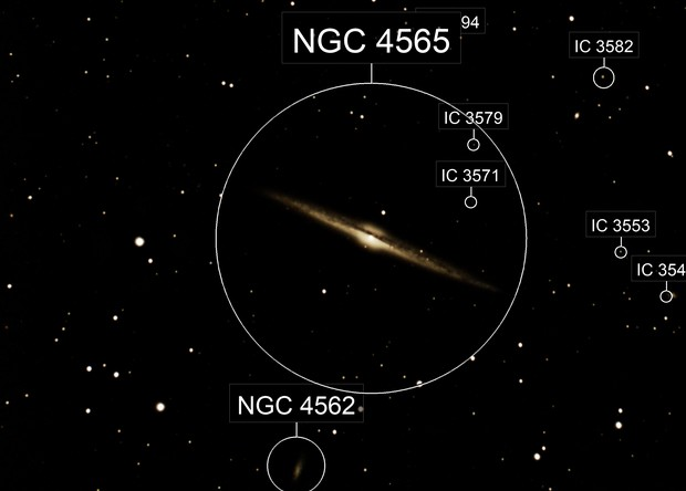 NGC 4565 (StarParty 2018 spring)