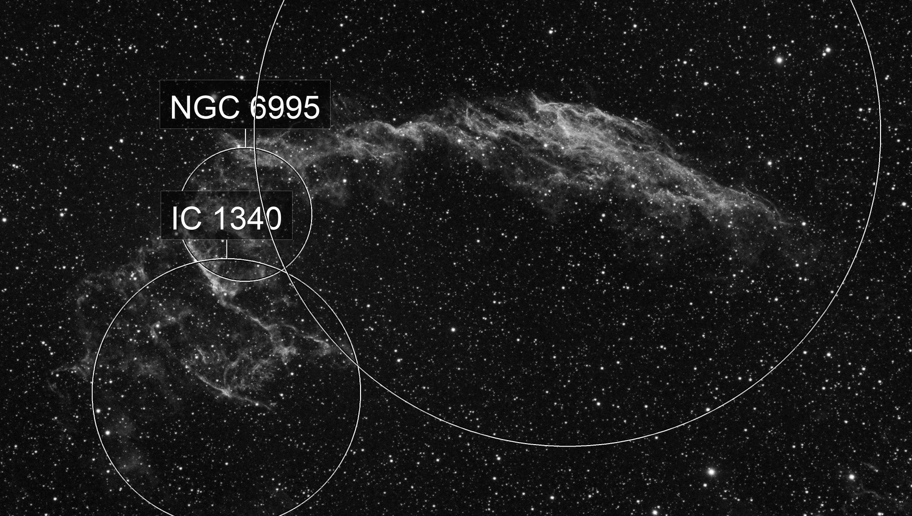 1 Hour of the Eastern Veil (NGC 6992)