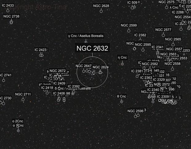 M44 Praesepe (Beehive Cluster)