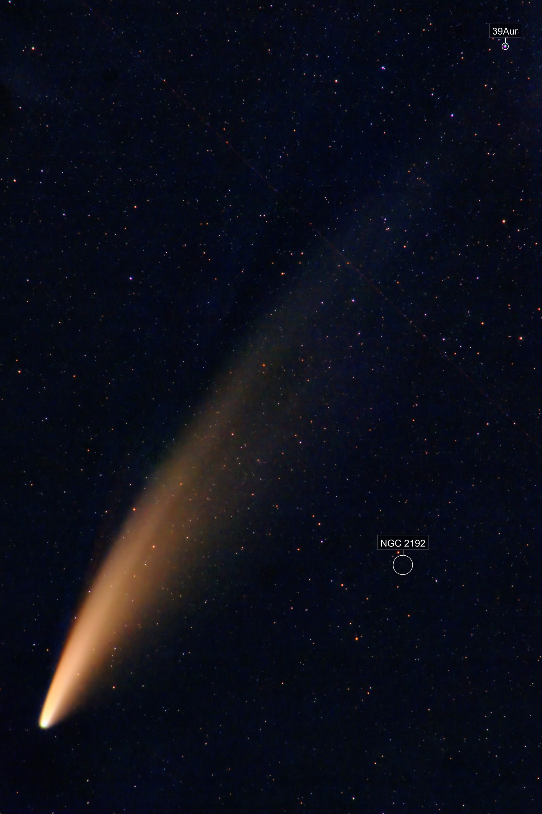 Comet NEOWISE on 7-9-20