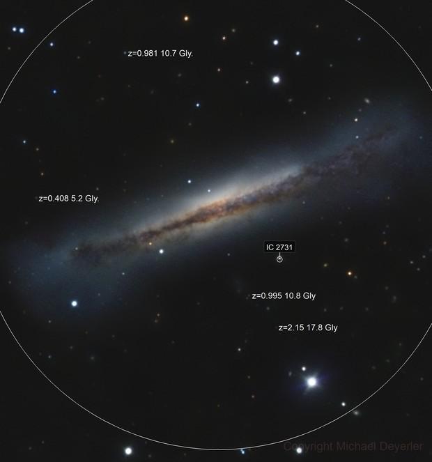 NGC 3628  The Hamburger Galaxy