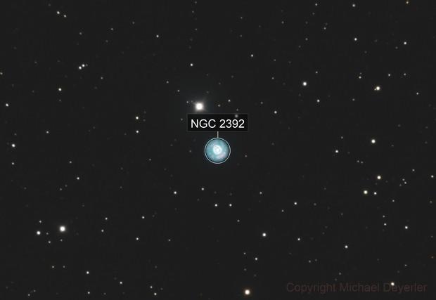 Eskimo Nebel  NGC2392