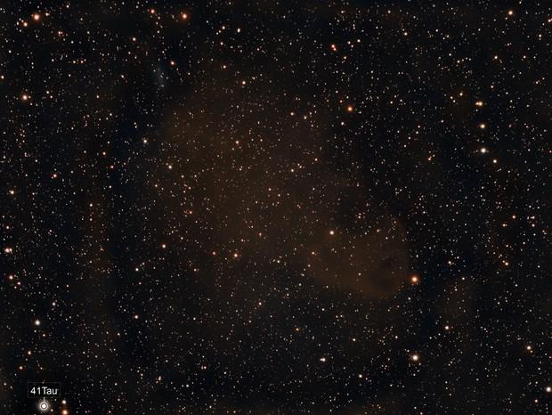 B207/LBN 777- Vulture head nebula with 64P/Swift-Gehrels