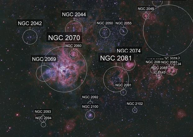 30 Doradus - The Tarantula Nebula