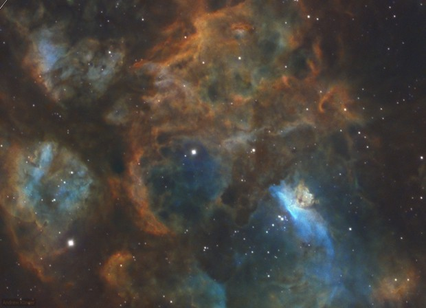 Into the core of NGC6357