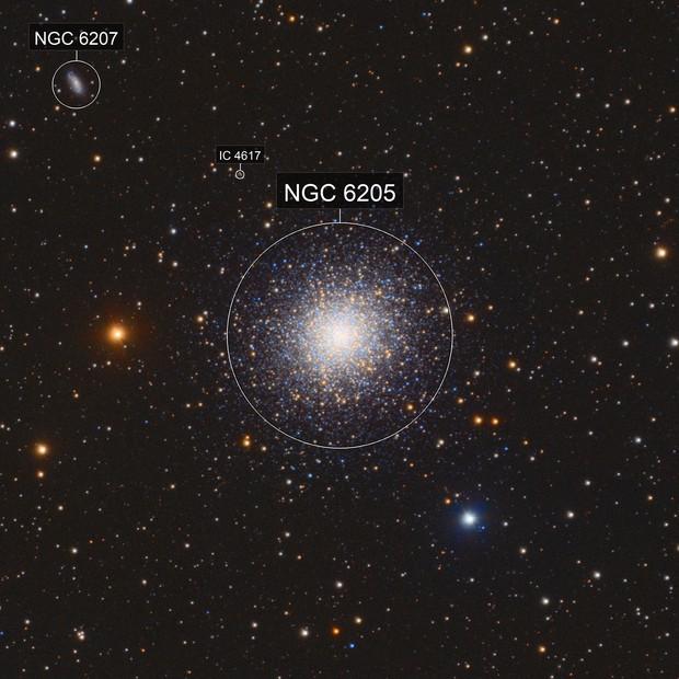 M13 - Great Globular Cluster in Hercules