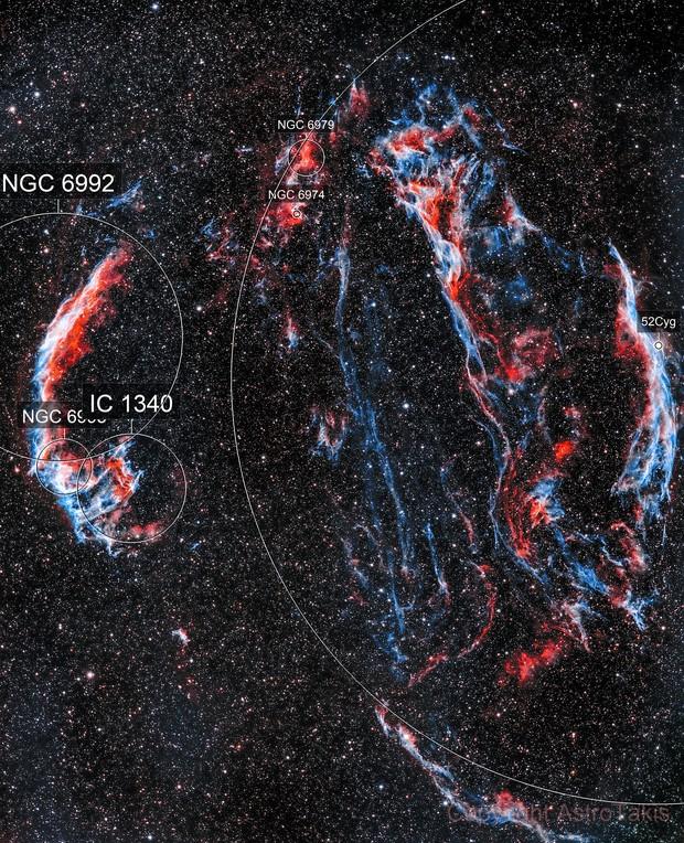 Cygnus Loop, HOO