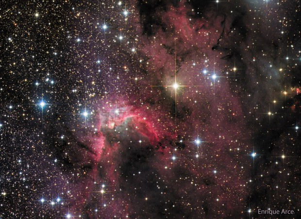 SH2-155 (The Cave Nebula)