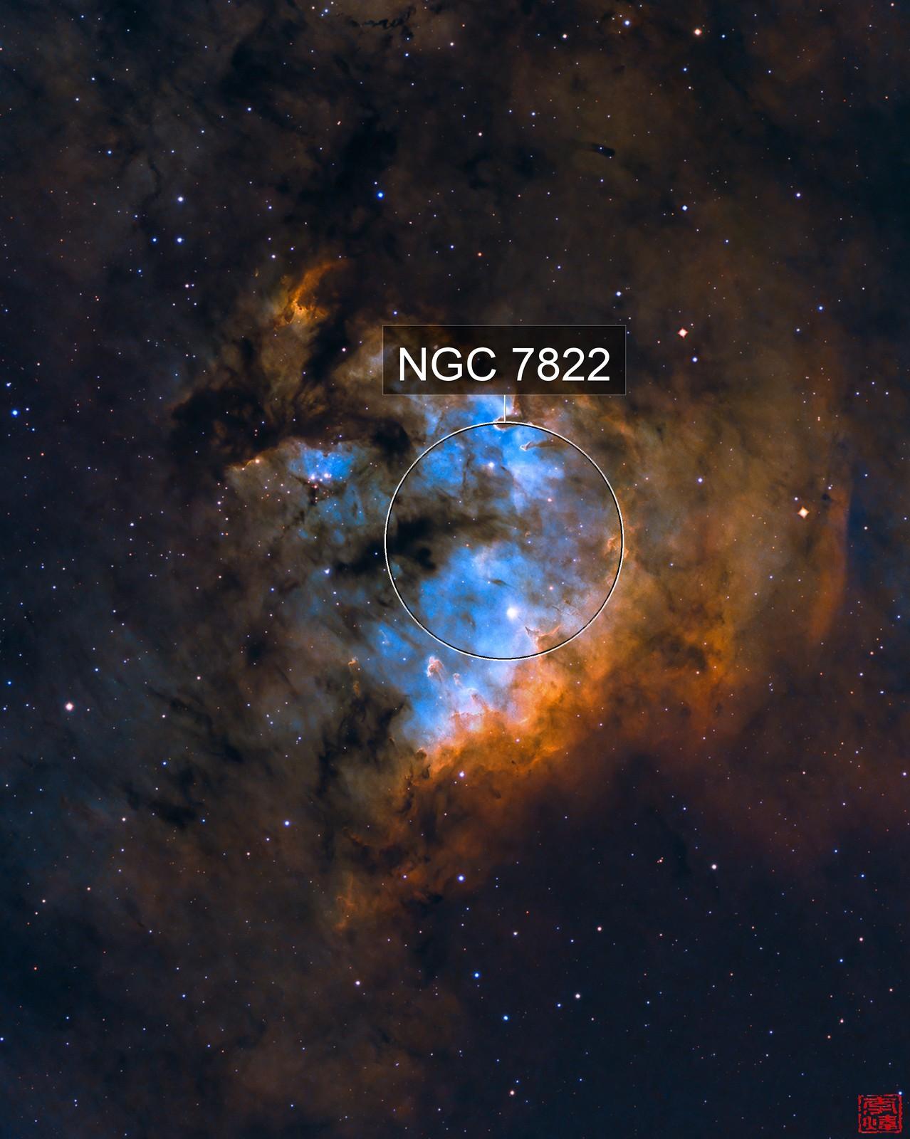 core of NGC7822